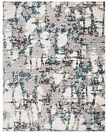 Skyler Gray and Blue 8' x 10' Area Rug