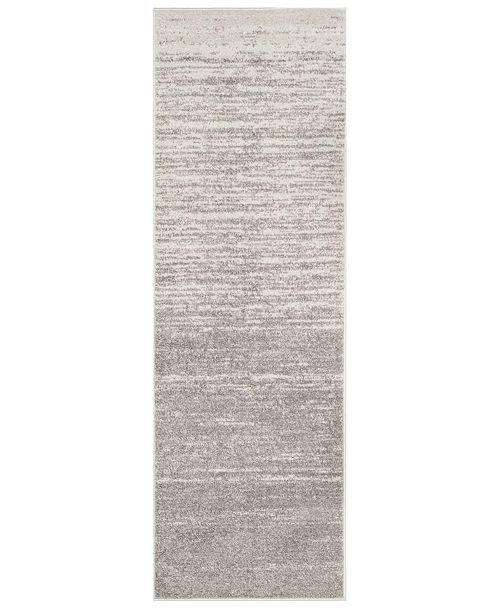 "Safavieh Adirondack Light Grey and Grey 2'6"" x 18' Runner Area Rug"
