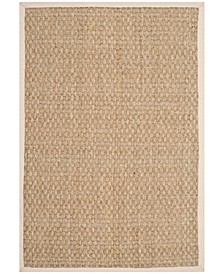 Natural Fiber Natural and Ivory 10' x 14' Sisal Weave Area Rug