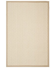Safavieh Natural Fiber Ivory and Natural 8' x 10' Sisal Weave Area Rug