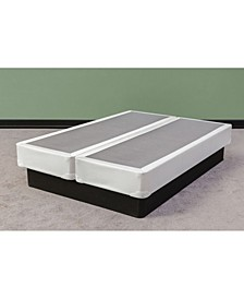 Fully Assembled Long Lasting Split Box Spring for Mattress, Full