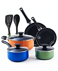 10-Piece Nonstick Stay Cool Handle Cookware Set