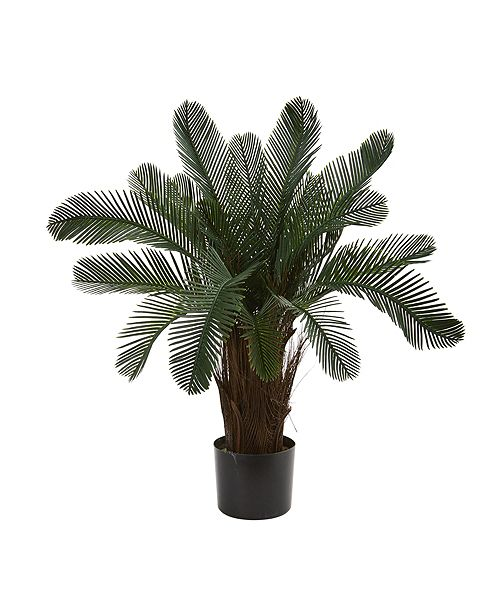 Nearly Natural 2' Cycas Artificial Tree, UV Resistant