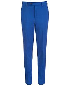Lauren Ralph Lauren Big Boys Classic-Fit Stretch Dress Pants
