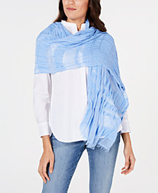 I.N.C. Sheer Stripes Wrap, Created for Macy's