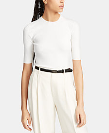 Polo Ralph Lauren Elbow-Sleeve Sweater