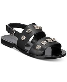 Roberto Cavalli Men's Studded Sandals