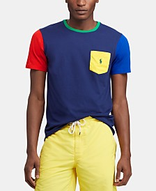 Polo Ralph Lauren Men's Classic Fit Colorblocked  T-Shirt