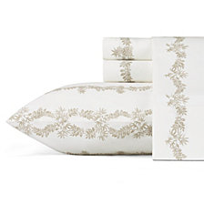 Tommy Bahama Pineapple Garland Queen Sheet Set