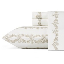 Tommy Bahama Pineapple Garland King Sheet Set