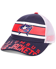 Outerstuff Boys' Columbus Blue Jackets Redline Snapback Cap