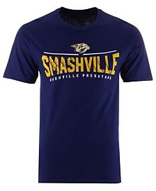 Majestic Men's Nashville Predators Smashville Arch T-Shirt