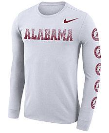 Nike Men's Alabama Crimson Tide Repeat Logo Long Sleeve T-Shirt