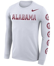 Nike Men's Alabama Crimson Tide Repeat Logo Long Sleeve T-Shirt