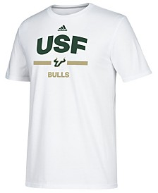 adidas Men's South Florida Bulls Sideline Speed Arch T-Shirt
