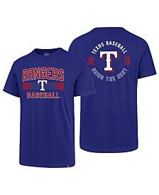 '47 Brand Men's Texas Rangers Rival Slugger T-Shirt