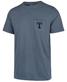 '47 Brand Men's Texas Rangers Hudson Pocket T-Shirt
