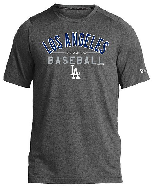 New Era Los Angeles Dodgers Poly Performance T-Shirt, Big Boys (8-20)