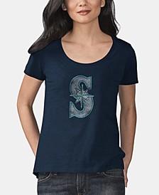 Women's Seattle Mariners Big Hitter T-Shirt