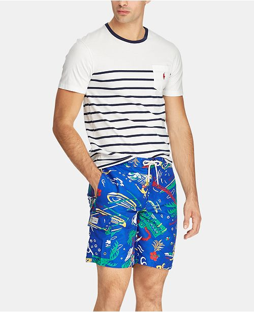 671505b8e9 Polo Ralph Lauren Men's Big & Tall Kailua Swim Trunks & Reviews ...