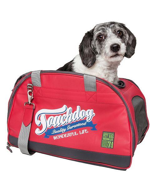 Pet Life Central Touchdog Original Wick Guard Water Resistant Fashion Pet Carrier