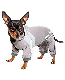 Dog Helios Namastail Breathable Full Body Performance Yoga Dog Hoodie Tracksuit
