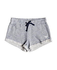 Roxy Girls Travel Often Heather Sweat Shorts