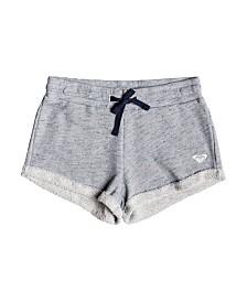 Roxy Girls Travel Often Heather Sweat Shorts