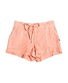 Roxy Girls Goldy Rain Cuff Shorts
