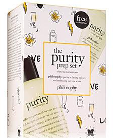 philosophy 2-Pc. The Purity Prep Set