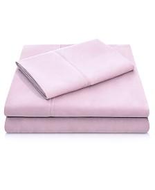Woven Microfiber Queen Pillowcase Set