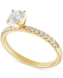 Diamond Engagement Ring (3/4 ct. t.w.) in 14k Gold