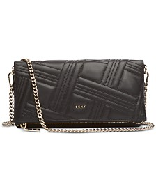 DKNY Allen Fold Over Clutch Crossbody, Created for Macy's