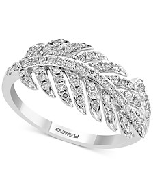 EFFY® Diamond Statement Ring (3/8 ct. t.w.) in 14k White Gold