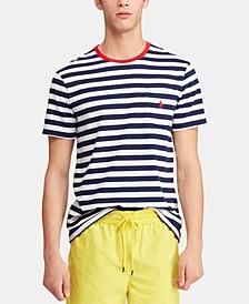 Men's Classic Fit Striped  T-Shirt