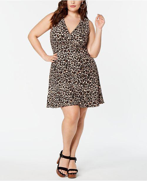 Planet Gold  Trendy Plus Size Yummy Swing Dress