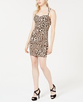 736c12fe6f59 GUESS Samantha Cat-Print Bodycon Dress