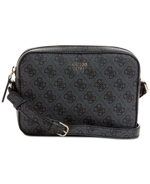 715bb16eaa GUESS Kamryn Logo Crossbody   Reviews - Handbags   Accessories - Macy s