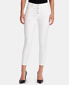 WILLIAM RAST Button-Fly Ankle Jeans