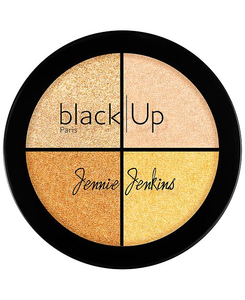 black Up Jennie Jenkins Highlighting Palette