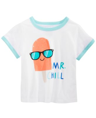 Baby Boys Mr. Chill Graphic T-Shirt, Created for Macy's