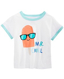 First Impressions Baby Boys Mr. Chill Graphic T-Shirt, Created for Macy's