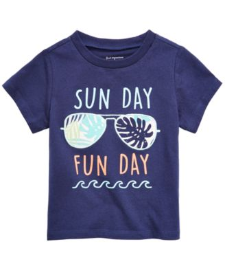 Baby Boys Fun Day Graphic T-Shirt, Created for Macy's