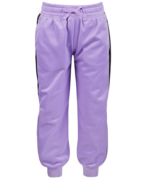 Ideology Little Girls Colorblocked Track Pants, Created for Macy's