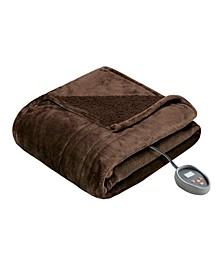 Microlight Berber Queen Electric Blanket