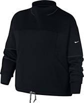 3cf0068cbf6cd Nike Plus Size Dri-FIT Fleece Training Top