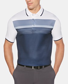 PGA TOUR Men's Colorblocked Polo