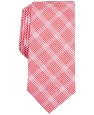 Alfani Men's Check Tie, Created for Macy's