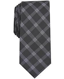 Alfani Men's Check Tie, Created for Macy's