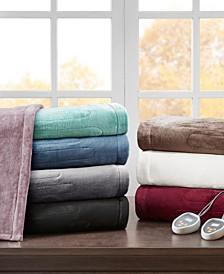 Heated Plush Blankets